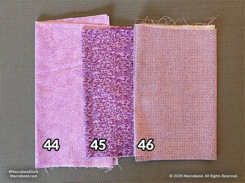 Fabric Swatches 44-46