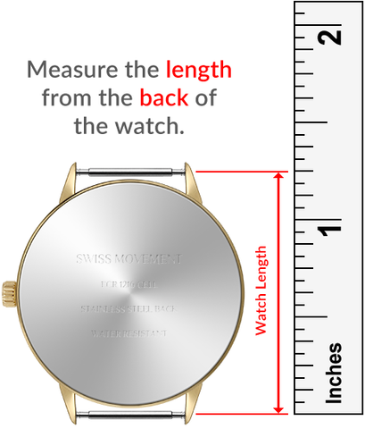 Macraband Watch Length Measurement Guide