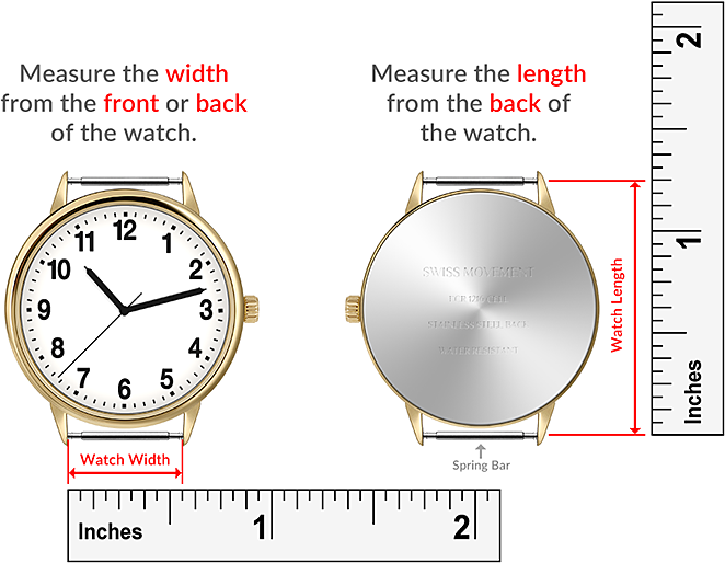 Macraband Watch Measurement Guide