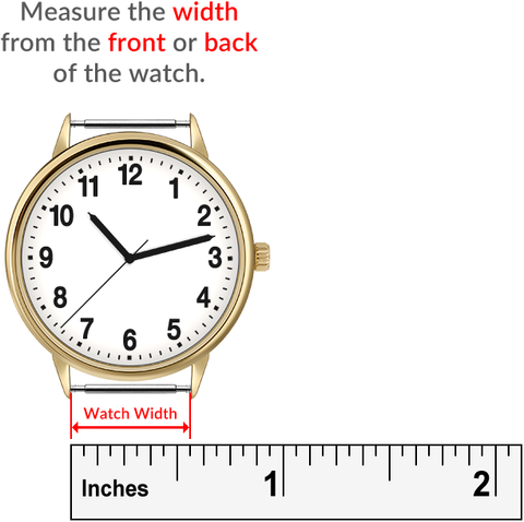 Macraband Watch Width Measurement Guide
