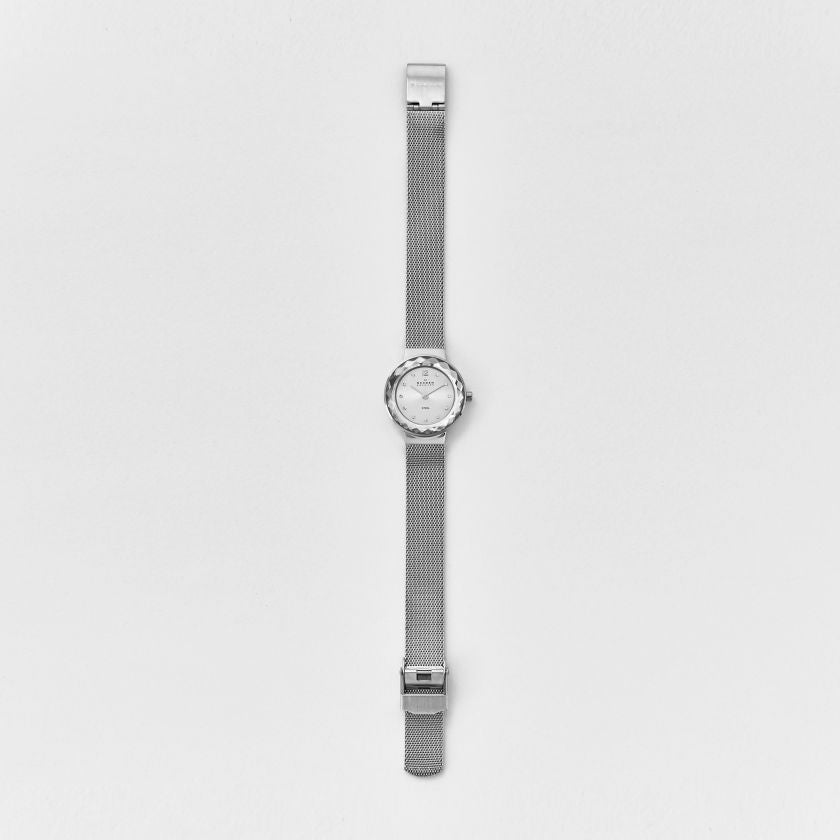 Leonora Steel Mesh Watch