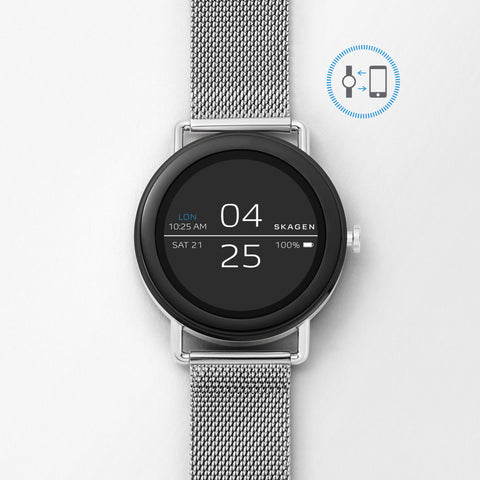 Smartwatch   Falster Steel Mesh