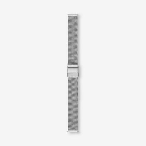 12mm Standard Steel-Mesh Watch Strap, Silver-Tone