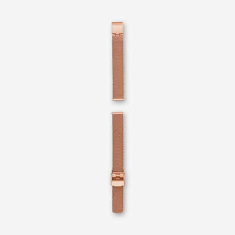 12mm Standard Steel-Mesh Watch Strap, Rose Gold-Tone