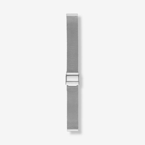 14mm Standard Steel-Mesh Watch Strap, Silver-Tone