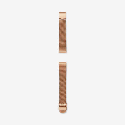 14mm Standard Steel-Mesh Watch Strap, Rose Gold-Tone