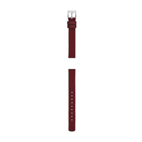 12mm Standard Nylon Watch Strap, Maroon
