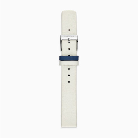 14mm Standard Leather Watch Strap Two Tone