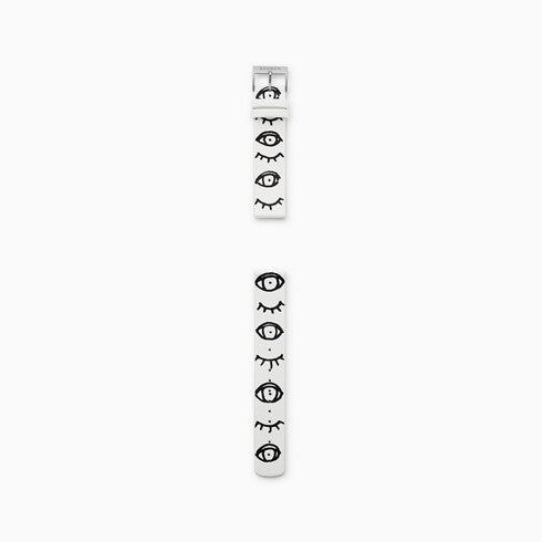 18mm Sketchables Leather Strap Eyes