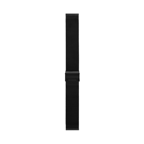 20mm Standard Steel-Mesh Strap, Black