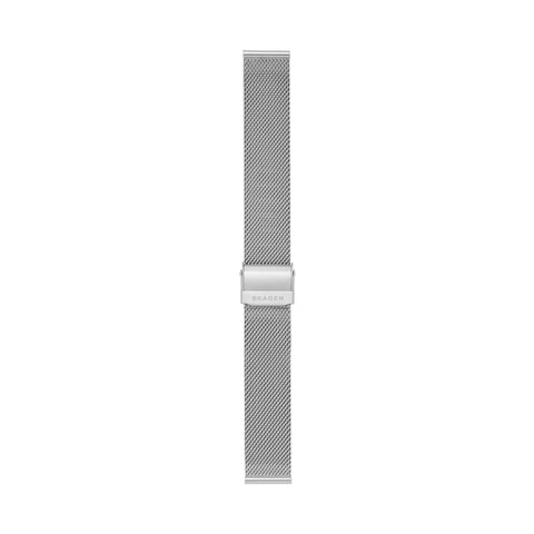 18mm Standard Steel-Mesh Watch Strap, Silver-Tone