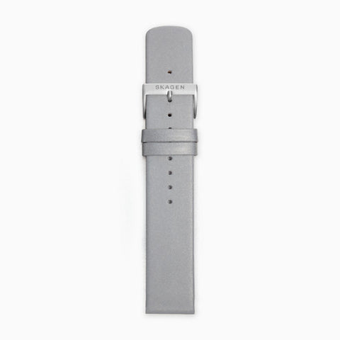 20mm Standard Reflective Watch Strap Silver