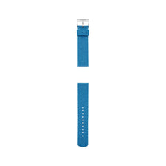 20mm Recycled Woven Strap, Blue