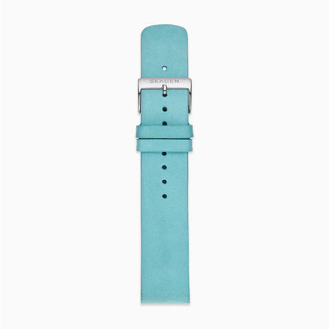 20mm Standard Leather Watch Strap Blue