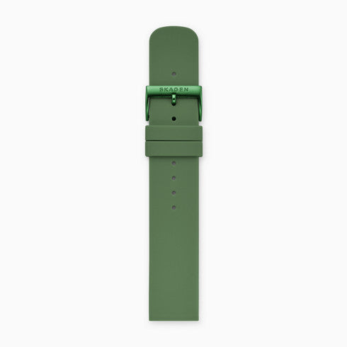 20mm Silicone Watch Strap Green