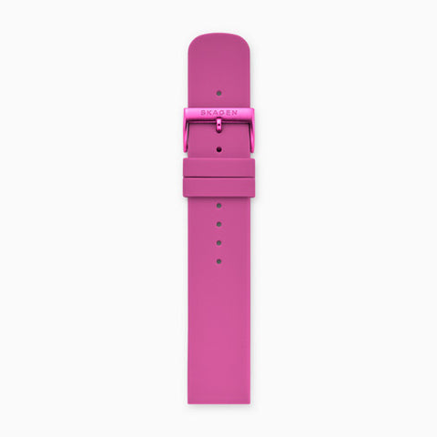 20mm Silicone Watch Strap Pink