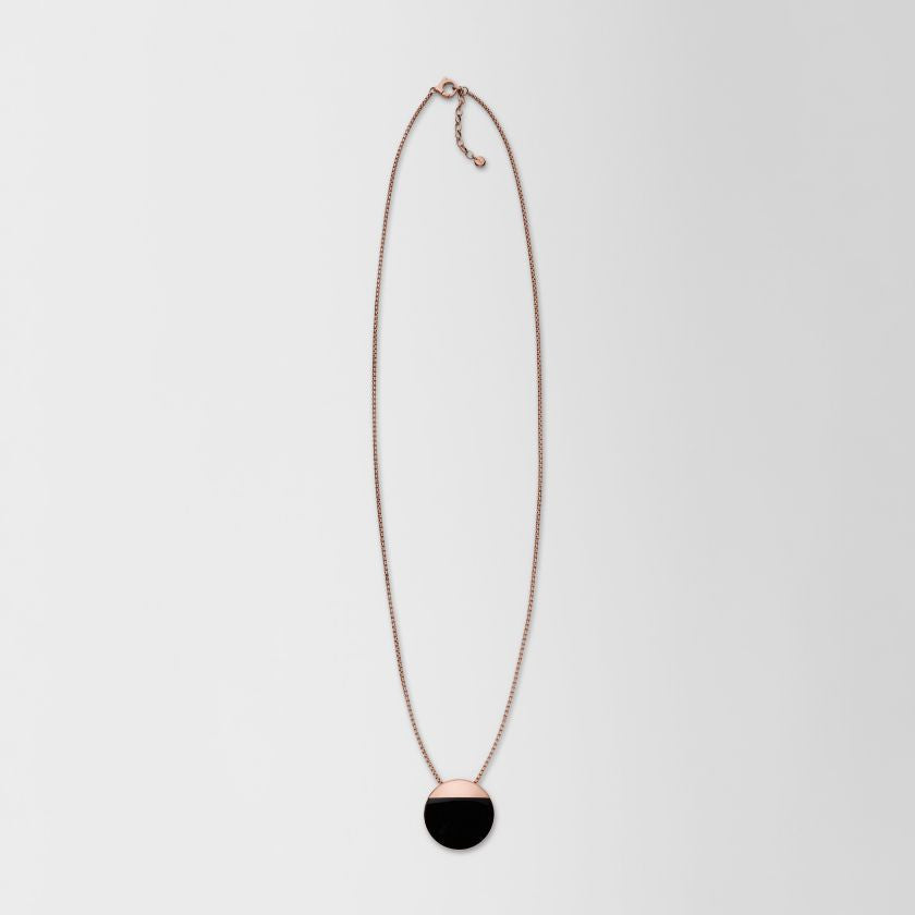 Ellen Rose-Gold-Tone Pendant Necklace