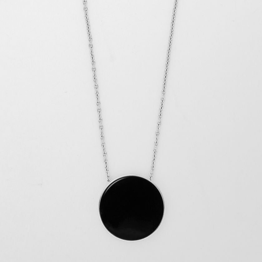 Ellen Onyx Pendant Necklace