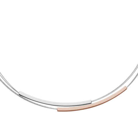 Elin Two-Tone Necklace