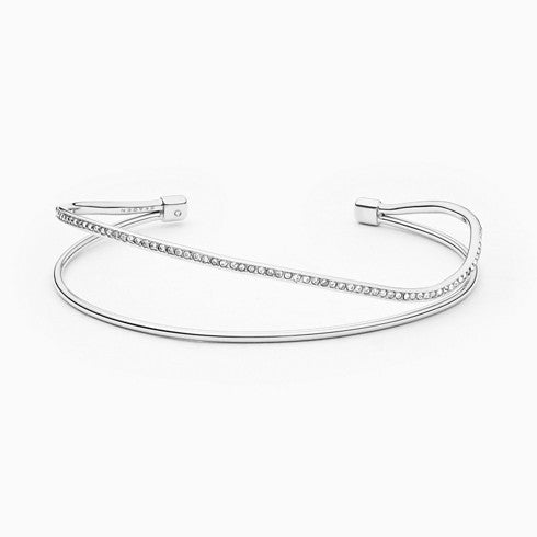 Kariana Silver Tone Wire Bangle