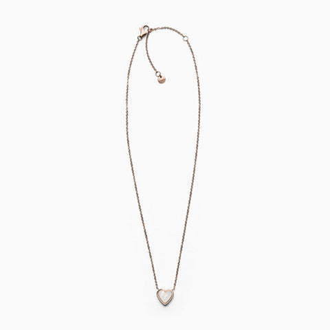 Katrine Rose Tone Mother of Pearl Necklace