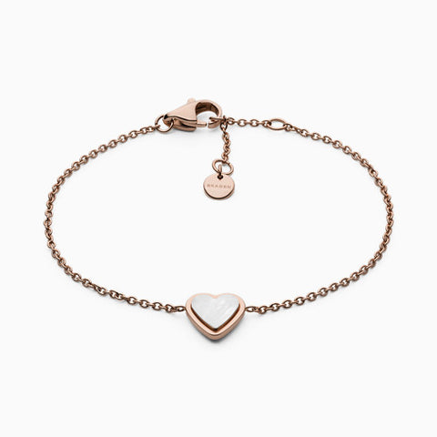 Katrine Rose Tone Mother of Pearl Bracelet