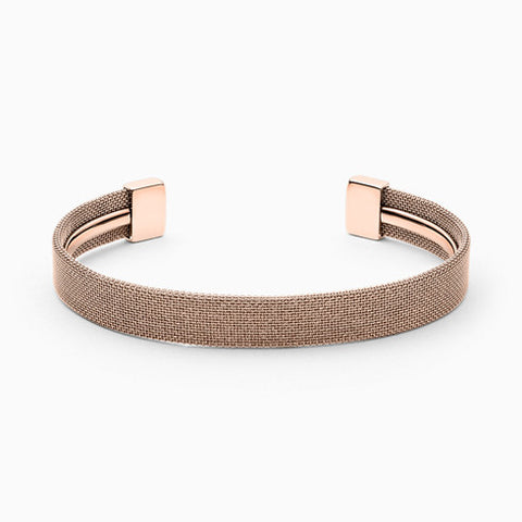 Merete Brilliant Mesh Bangle and Necklace Box Set
