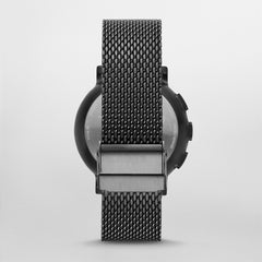 Hagen Connected Steel-Mesh Hybrid Smartwatch