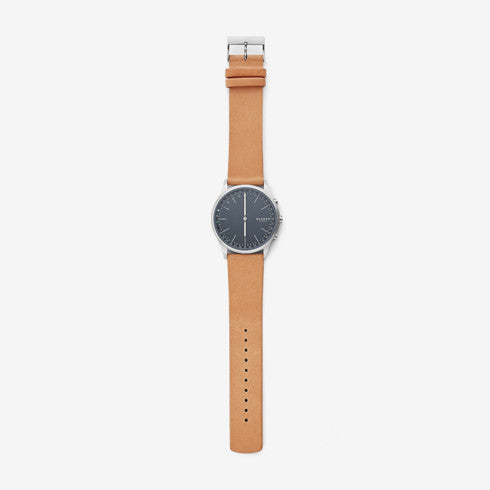 Jorn Connected Leather Hybrid Smartwatch