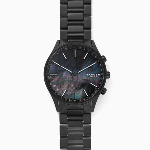 Holst Black Titanium Link Hybrid Smartwatch