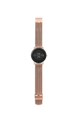 Smartwatch Falster 1 Rose Gold Tone Steel Mesh