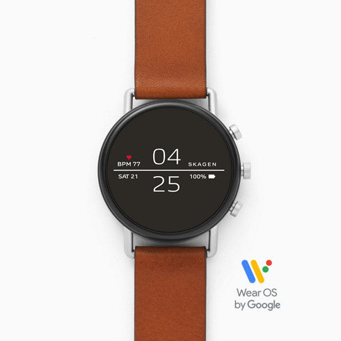 Smartwatch Falster 2 Brown Leather