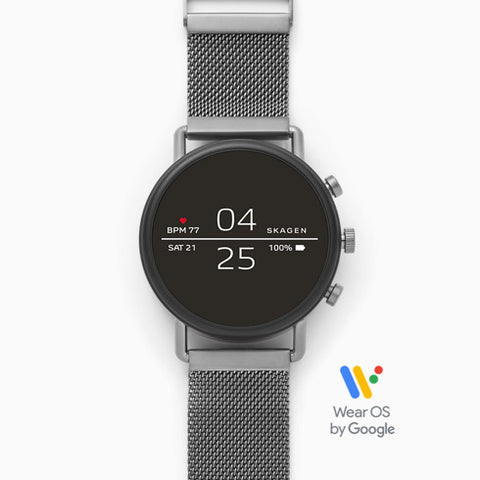 【NEW】Smartwatch Falster 2 Gray Magnetic Steel Mesh