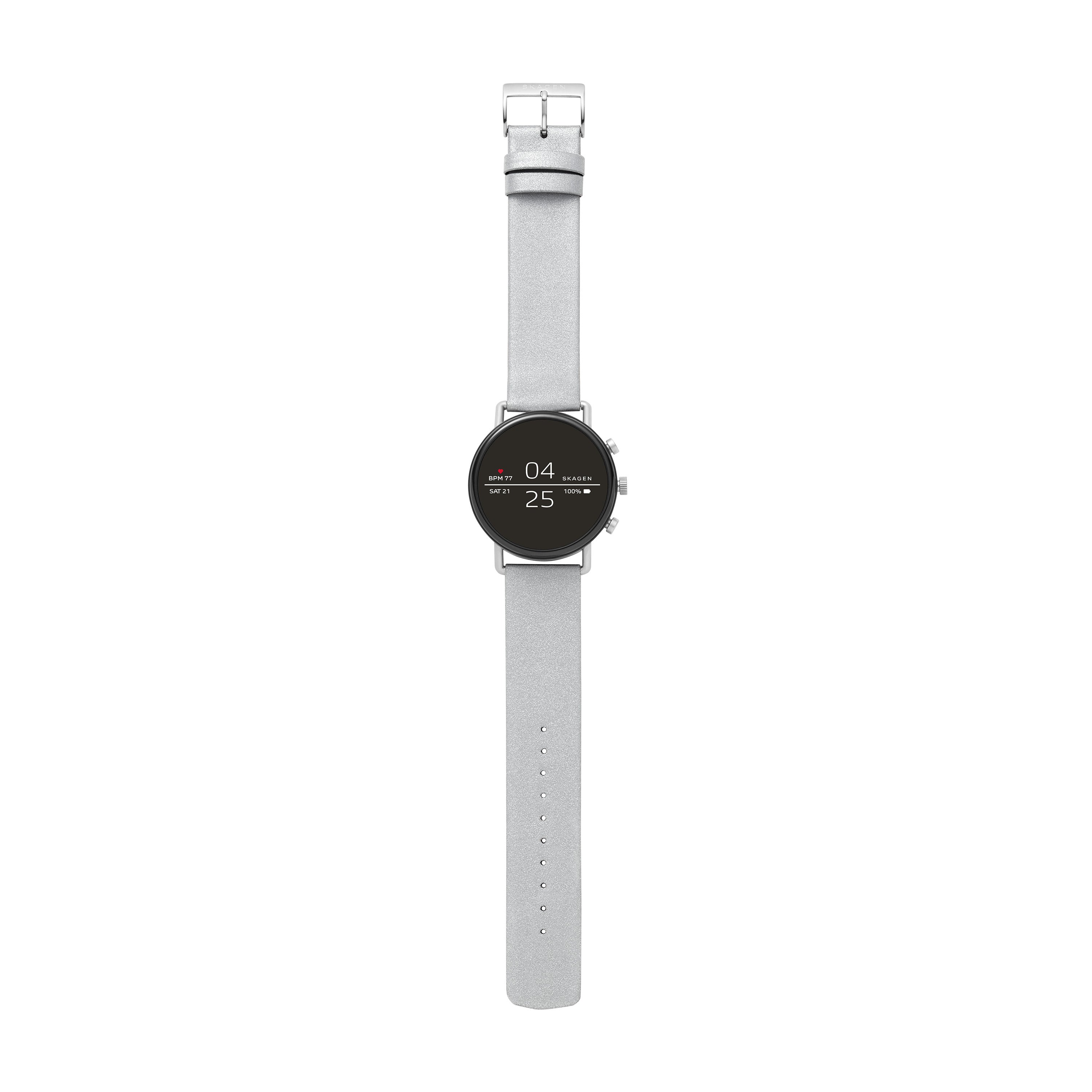 【NEW】Smartwatch Falster 2 Reflective Silver Strap