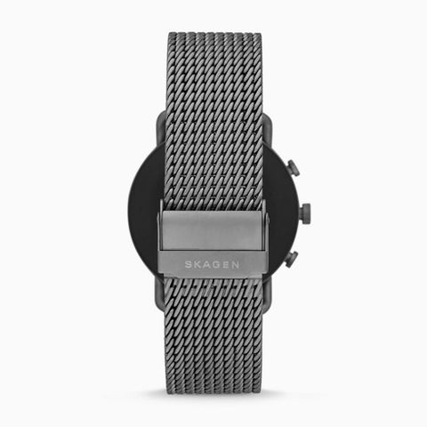 Smartwatch HR - Falster 3 Gunmetal Gauge Mesh