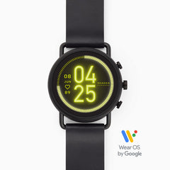 Smartwatch HR Falster 3 Black Leather