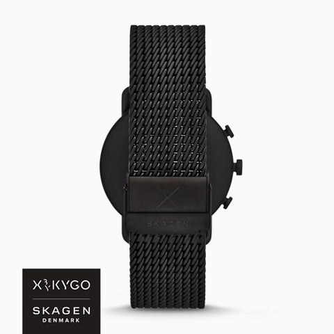 Smartwatch HR - Falster 3 X by KYGO Black Stainless Steel