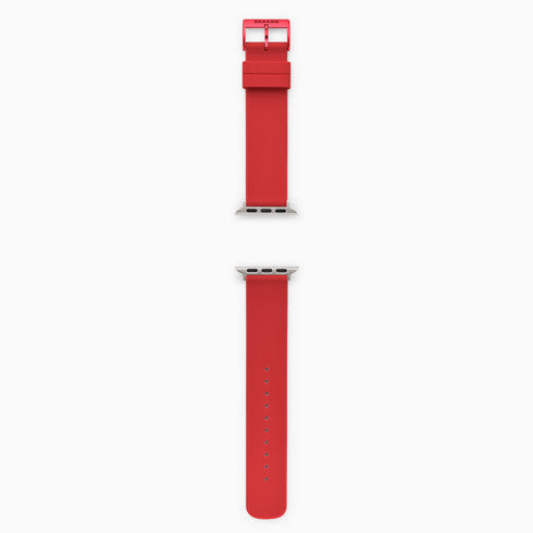 Red Silicone Bands for Apple Watches® 38mm and 40mm