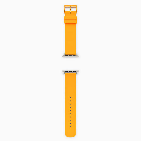 Yellow Silicone Bands for Apple Watches® 38mm and 40mm