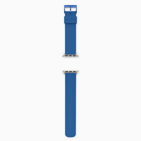 Blue Silicone Bands for Apple Watches® 38mm and 40mm