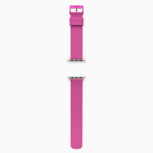 Pink Silicone Bands for Apple Watches® 38mm and 40mm