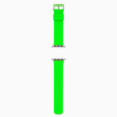 Neon Green Silicone Bands for Apple Watches® 38mm and 40mm