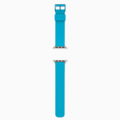 Neon Blue Silicone Bands for Apple Watches® 38mm and 40mm