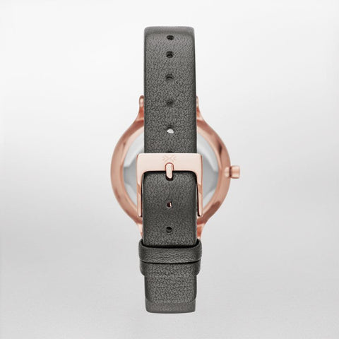 Anita Leather Watch