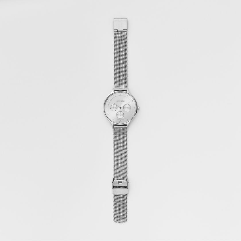 Anita Steel Mesh Multifunction Watch