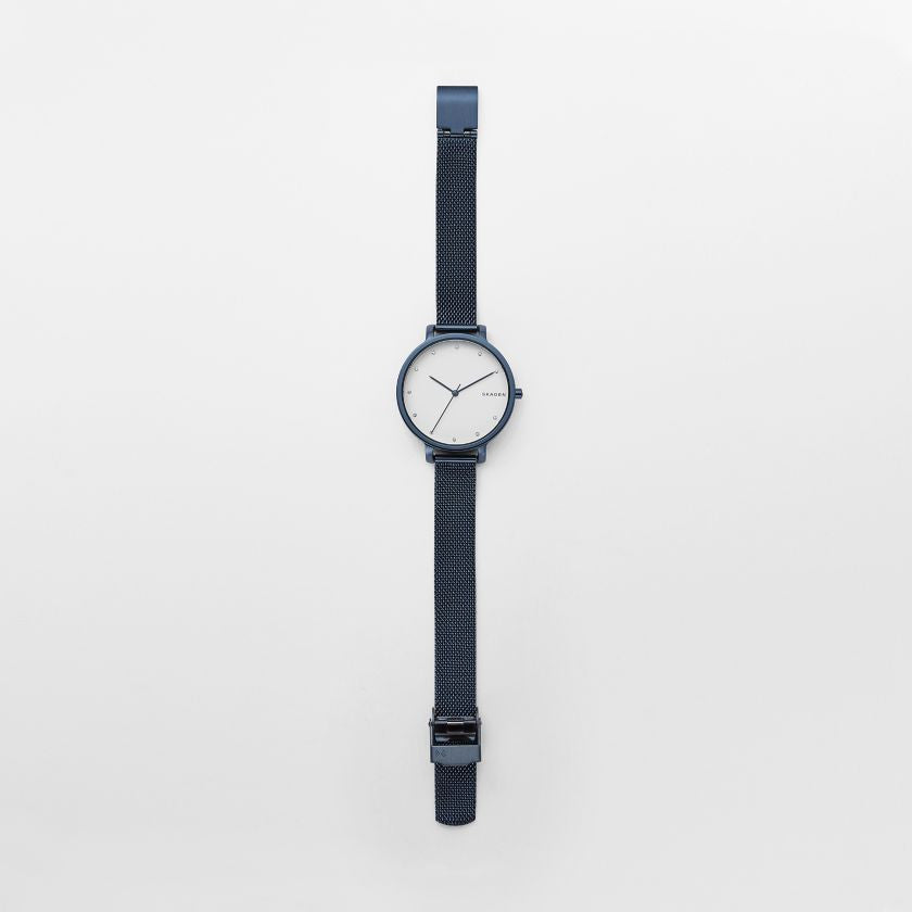 Hagen Steel-Mesh Watch