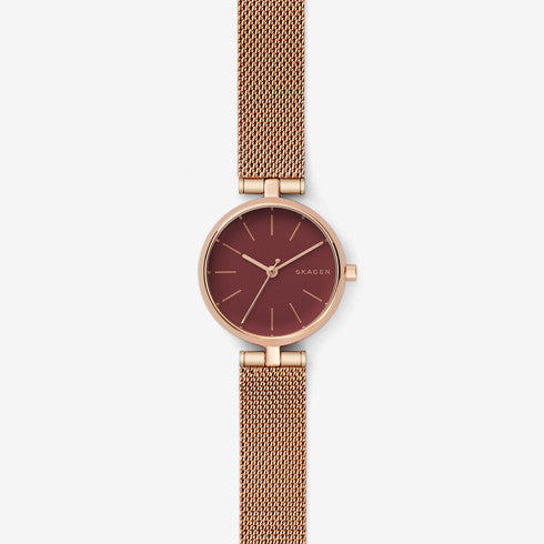 Signatur Steel-Mesh T-Bar Watch