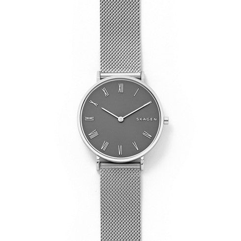 Slim Hald Steel-Mesh Watch