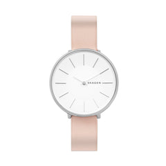 Karolina Blush Leather Watch