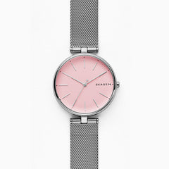 Signatur T Bar Steel Mesh Watch